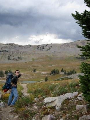 Kevin found Sunset Lake!