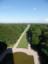 The view of Stadtpark from the Planetarium