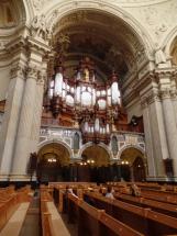 The organ in Berlin Dome