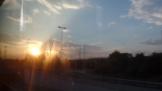 On the bus to Stuttgart