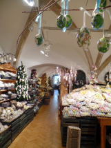 A huge store of egg ornaments